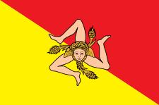 Drapeau-Sicile