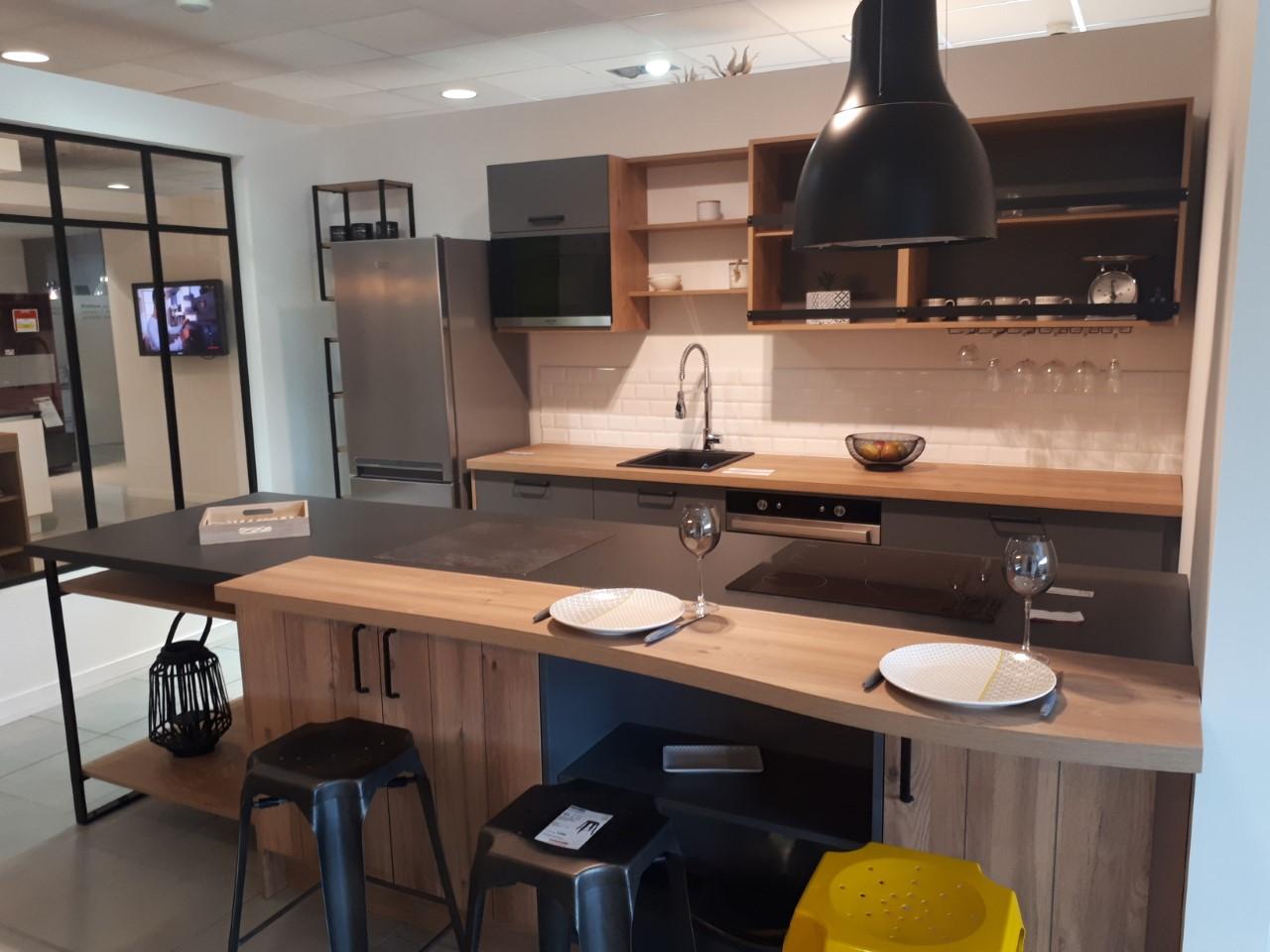 Cr dence cuisine 7 5 15 m tro blanc armor c ramique - Credence cuisine metro ...