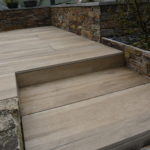 Terrasse sur plots 40x120 Chêne Silva B