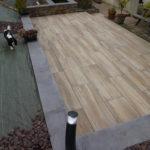 Terrasse sur plots 40x120 Chêne Silva A